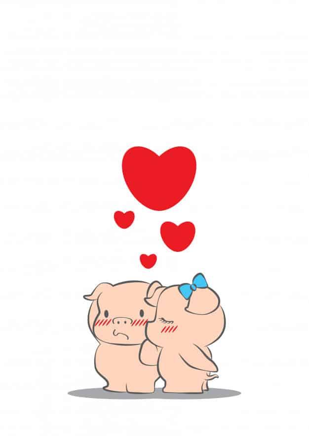 Enamorados Dibujos Bonitos De Amor Para Colorear